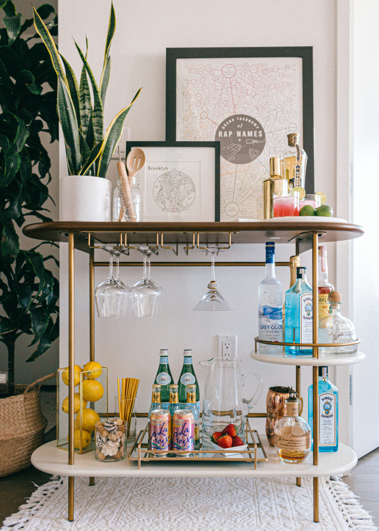 12 Bar Cart Styling Tips Tricks You Ll Want To Recreate The Guide Inc